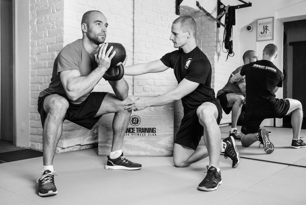 Advance TrainingTino Janikov – personal trainer, strength